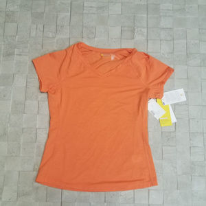 NWT Zella Active Top - Orange - XS